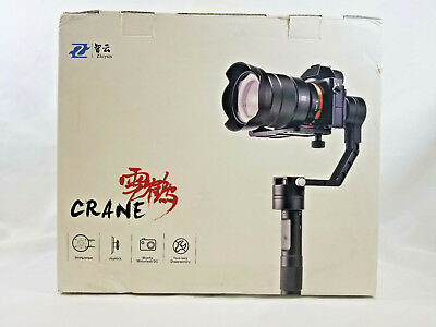 Zhiyun Crane 3-Axis Handheld Stabilizer Gimbal for Mirrorless Camera DSLR A7