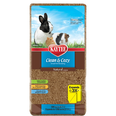 Kaytee Clean And Cozy Natural Super Absorbent Paper Small Pet Bedding 24.6L