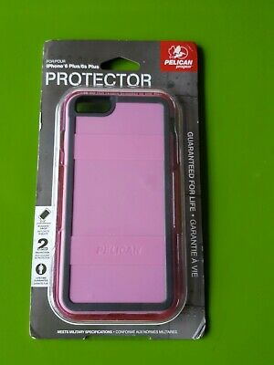 Pelican ProGear Protector Series for iPhone 6 Plus / 6S Plus - Pink / Gray