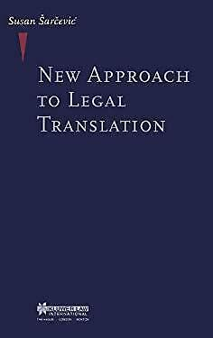 New Approach to Legal Translation-ExLibrary