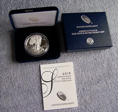 2019 (W) West Point American Eagle Silver Dollar Proof