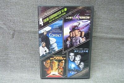 4 Film Favorites Sci-Fi Collection DVD