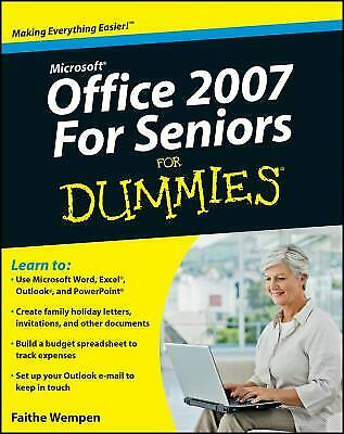 Microsoft Office 2007 for Seniors for Dummies� by Wempen, Faithe-ExLibrary