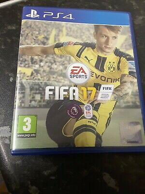 PS4 Fifa 17 PS4  PlayStation game - Mint Condition - FAST & FREE Delivery