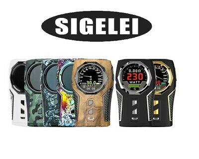 Sigelei TOP1 230W TC Akkuträger Box Mod E-Zigarette Tacho-Design New Colors