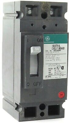 GE MOLDED CASE 110AMP 3 POLE CIRCUIT BREAKER  TED134110 *PZB*