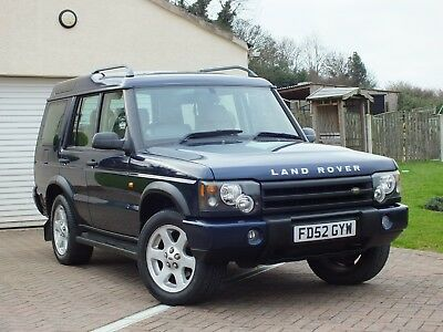 2002 Land Rover Discovery 2 Td5 Es Manual 7 Seater Blue Diesel 4X4
