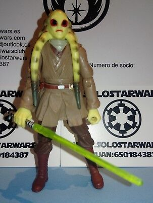 Star Wars Kit Fisto Jedi Master Revenge Of The Sith Collection 2005