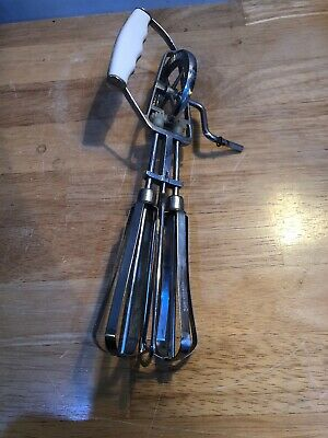 Old Vintage HAND WHISK MIXER Retro Kitchenalia