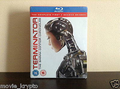 Terminator - The Sarah Connor Chronicles - Season 1-2 [Blu-ray] *BRAND NEW*