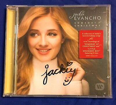 Jackie Evancho Someday At Christmas.Jackie Evancho Signed Autographed Someday At Christmas Cd W Proof The Debut