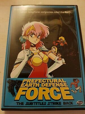 Perfectural Earth Defense Force The Subtitles Strike Back Rare OOP Region 1...