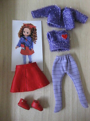 "8"" Tiny Betsy McCall goes to the Movie outfit"