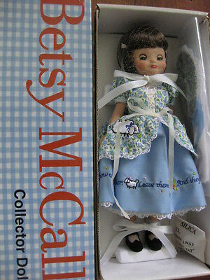 "8"" Tiny Betsy McCall Introducing Brown Hair with Little Bo Peep outfits"