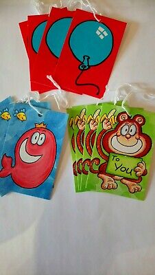 12 Birthday, special occasions Bright tags Gift Tags 2 designs