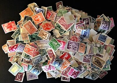 Large Lot of My Aunt's Bulgarian Stamps (Lot 110)