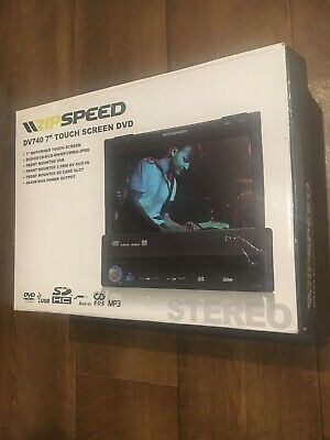 "Ripspeed DV740 Single DIN 7"" In-Dash DVD MP3 Radio CD Player Car Stereo USB"