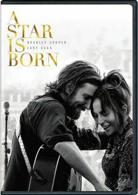 A Star is Born (2018) DVD NEW Lady Gaga, Bradley Cooper