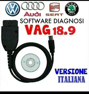Vag V2 18.9 In Italiano Diagnosi Auto Obd2 Audi Vw Seat Skoda