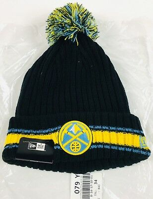 first rate 63ddb 98845 ... store nwt denver nuggets new era basic chunky pom knit os 815e0 6d705