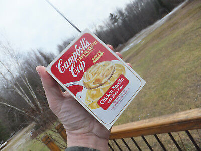 Vintage Campbell's Cup Chicken Soup Novelty Promotional Transistor AM FM Radio