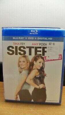 New Tina Fey Amy Poehler Sisters Unrated Blu Ray Dvd Digital Expired Free S&H