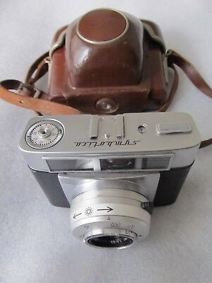 Vintage 1960s Zeiss Ikon: Symbolica 35mm Camera & Case