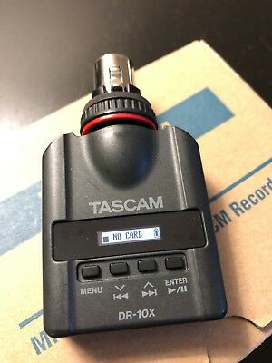 Tascam DR-10X Plug-On Linear PCM Digital Recorder for XLR Microphones PARTS ONLY