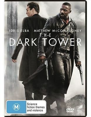 The Dark Tower (DVD, 2017) NEW &SEALED