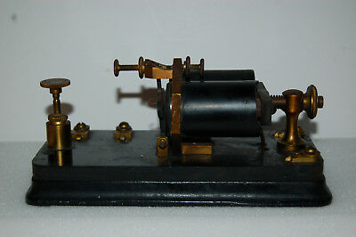 Antique Telegraphic relay sounder, by J.H. Bunnell, unit not marked,