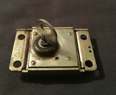 Western Electric 30C Payphone Lock with 1 Key - Pay Phone Single & 3 Slot