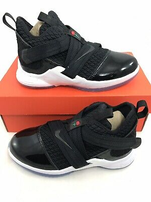 bf643d522631a NIKE LEBRON SOLDIER 12 SFG Little Kids AO2912-600 Team Red Shoes ...