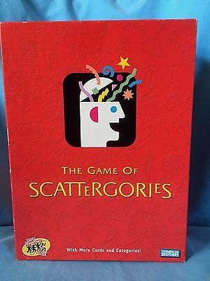 The Game Of Scattergories Parker Brothers/Hasbro Age 12+  2-6 Players