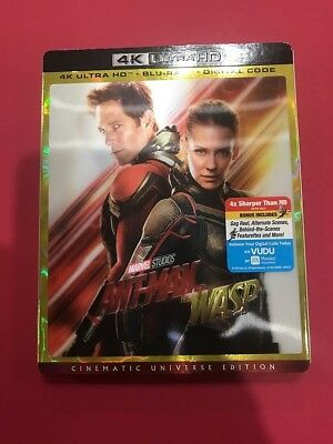 Ant-Man and the Wasp [4K Ultra HD] BUY 3 GET 1 FREE