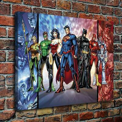 Comics Superhero HD Canvas prints Painting Home decor Picture Room Wall art