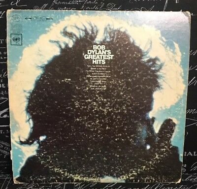 Bob Dylan's Greatest Hits LP Record 2 Eye Columbia (Neil Young The Beatles)