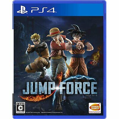 Bandai Namco Games Jump Force SONY PS4 PLAYSTATION 4 JAPANESE VERSION