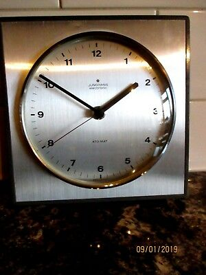 "Lovely Retro  Junghans  "" Ato-Mat ""  Electronic Wall Clock circa. 1950/60s,"