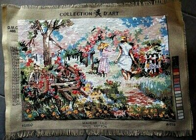 Collection D'ART D.M.C. 486 - Completely finished TAPESTRY   32.5cm x 47.5cm
