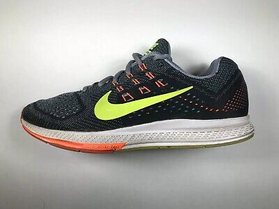 1d79a6b66008f Nike Zoom Structure 18 683731-001 Men's Running Shoes Size 10 Black White  Gray