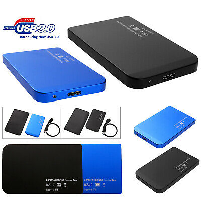 2.5'' USB 3.0/USB 2.0 SATA SSD HDD Hard Drive Dock Enclosure Case Station Box AU