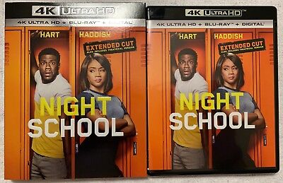 Night School Extended Cut 4K Ultra Hd Blu Ray 2 Disc Set = Slipcover Sleeve Buy