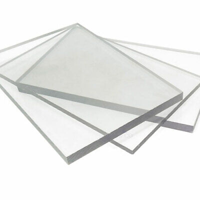 Greenhouse Polycarbonate Flat Solid Sheet 610mm X 1220mm (2ft X 4ft) Pack Of 2