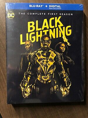 DC Black Lightning First Season 1 One Blu Ray w Slip Cover Canada Bilingual LOOK