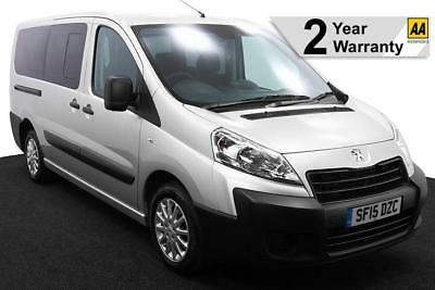 2015(15) PEUGEOT EXPERT 2.0 HDi TEPEE COMFORT LWB AUTO WHEELCHAIR ACCESSIBLE