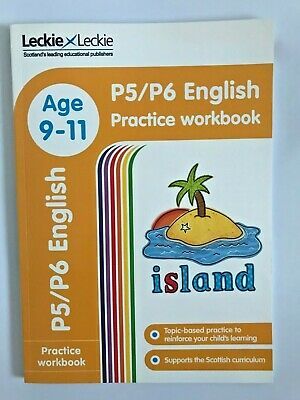 P5/P6 English Practice Workbook by Leckie & Leckie KS2 Ages 9-11