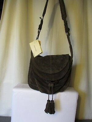 a3f752fc9b messenger bag vanessa bruno suede taupe