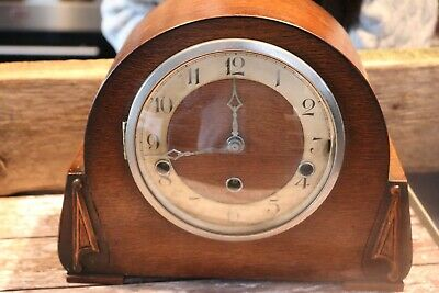 antique Edwardian ? westminster chime mantle clock Needs Attention Spares Parts