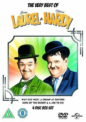 The Very Best of Laurel and Hardy [DVD] - VERY GOOD condition - FREE UK DELIVERY