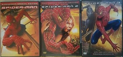 SPIDER-MAN DVD COLLECTION: 1 2 & or 3 *Choose, Combine Ship & SAVE! Ships FAST